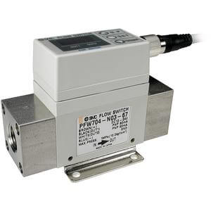 PF2W7, Digital Flow Switch for Water, Integrated Display Type