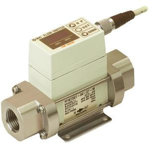 PF2W7**T, Digital Flow Switch for Hot Water, Integrated Display Type