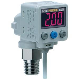 ISE80, 2-Color Display Digital Pressure Switch for Positive Pressure