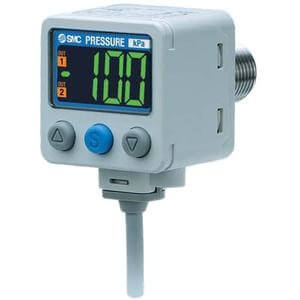 ZSE80, 2-Color Display Digital Pressure Switch for Vacuum