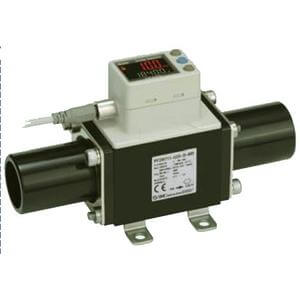 PF3W7, Digital Flow Switch for PVC Piping, Integrated Display