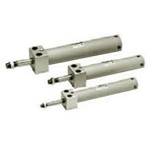 C(D)G1KR-Z, Air Cylinder, Non-rotating, Double Acting, Single Rod, Direct Mount