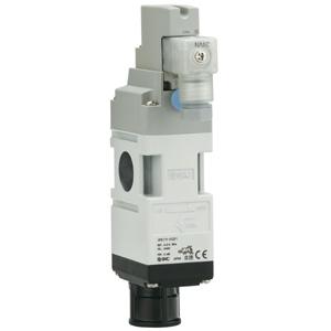 VP517/717, 3 Port Solenoid, Residual Pressure Relief, Modular Connection