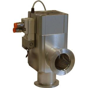 XL*V, High Vacuum Angle Valves, Air Operated w/Solenoid Valve