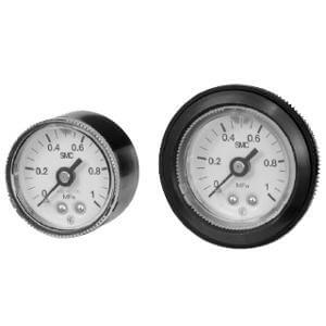 G46E, Pressure Gauge, Oil-free, External Parts Copper-free w/Limit Indicator (O.D. 42)