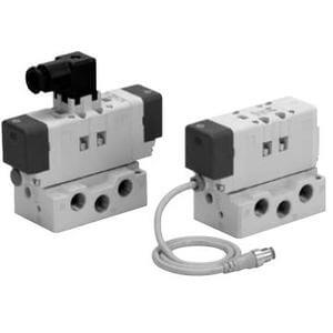 VQ7-6, ISO Standard Solenoid Valve, Size 1, Single Unit