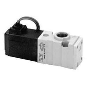 VKF300, 3 Port Direct Operated Poppet Solenoid Valve, Metric
