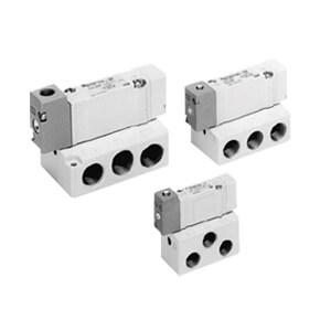 SYA3000, 5000, 7000, 5 Port Air Operated Valve, All Types