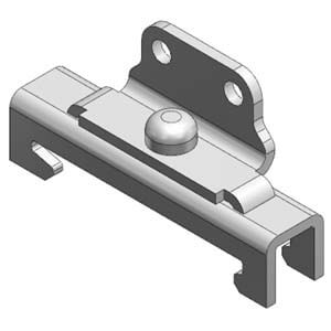 AS-xxD, DIN Rail Mounting Bracket for AS*002F