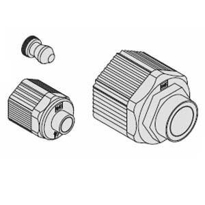LQ1, High Purity Fluoropolymer Fitting, Nut Insert Bush