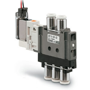 S0700, 5 Port Solenoid Valve, Body Ported