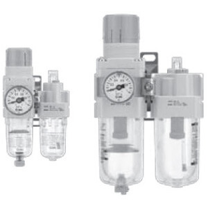 AC10A-A to AC40A-A, Filter Regulator and Lubricator
