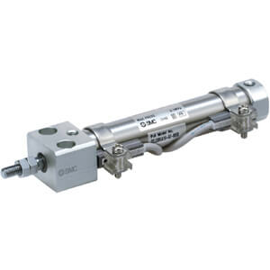 C(D)J2RKA-Z, Air Cylinder, Direct Mount, Non-rotating, Double Acting, Single Rod