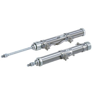 C(D)J2-Z, Air Cylinder, Single Acting, Spring Return/Extend