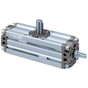 C(D)RA1**U-Z, Rotary Actuator, Rack & Pinion, Angle Adjustable