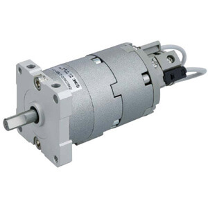 CRBU2WU10~40-Z, Rotary Actuator, Free Mount w/Angle Adjuster, Vane Type