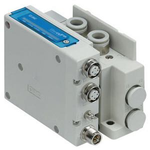 SS5Y3-10S, 3000 Series Manifold, Side Ported for EX260 Integrated-type for Output Serial Transmission System