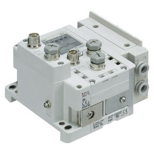 SS5Y5-12S6, 5000 Series Manifold for Series EX600 Integrated (I/O) Serial Transmission System (Fieldbus) (IP67)