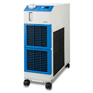 HRSH090, Large Capacity, High Efficiency Inverter Compact Chiller, 200/400 VAC
