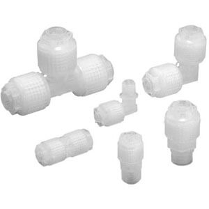 LQ1, High Purity Fluoropolymer Fitting, Threaded Connection