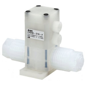 LVD-Z***-F/FN High Purity Chemical Valve, Integral Fittings Flare