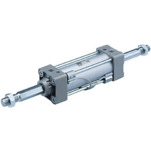 M(D)BKW-Z, Air Cylinder, Non-rotating, Double Acting, Double Rod