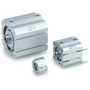 NC(D)Q8, Compact Cylinder, Double Acting, Single Rod