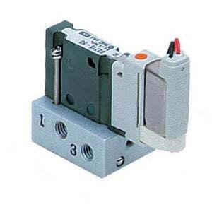 S0700, 5 Port Solenoid Valve, Base Mounted