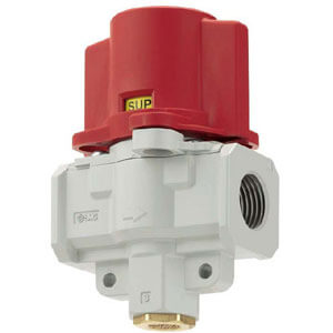 VHS2510/3510/4510/5510 Pressure Relief  Valve, 3 Port, w/Locking Holes (Double Action)