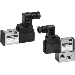 VK300,  3 Port Solenoid Valve, Direct Operated Poppet