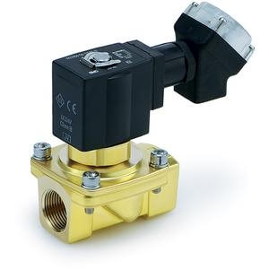 VXEZ, Energy Saving Type, Zero Differential Pressure Type, Pilot Operated, 2 Port Solenoid Valve