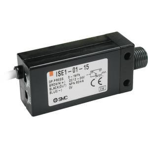 ISE1, Compact Pressure Switch, Positive Pressure, For ZM Vacuum System