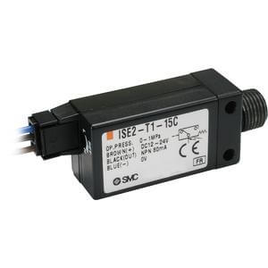 ISE2, Compact Pressure Switch, Positive Pressure, For ZX/ZR Vacuum System