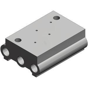 SS5YJA3, 3000 Series, Bar Stock Manifold, Individual Wiring