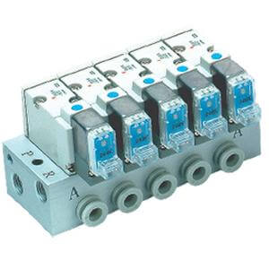 10-SS3YJ5-40, Type 40 Manifold (for SYJ500 Base Mounted Valves), Clean Series