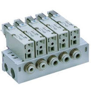 VV3QZ*5, 200/300 Series Manifold, Base Mounted