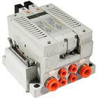VV5Q21-P, 2000 Series, Base Mounted Manifold, Plug-in, Flat Cable Connector