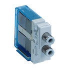 V1*0, 3 Port Solenoid Valve for VV100, D-sub Connector, Plug-in Type