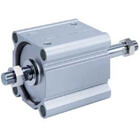 NC(D)Q2WB-Z, Compact Cylinder, Double Acting Double Rod, Large Bore (125-160)