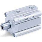 C(D)Q2K-Z, Compact Cylinder, Double Acting, Single Rod, Non-rotating