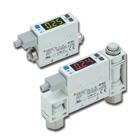 PFM7, 2-Color Display, Digital Flow Switch, Integrated Display