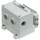 SS5Y5-12S4, 5000 Series Manifold for Series EX126 Integrated (Output) Serial Transmission System (IP67)