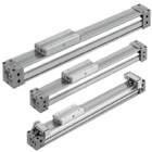 MY1B-Z, Mechanical Joint Rodless Cylinder, Basic Type w/o Stroke Adjustment