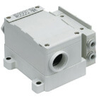 SS5Y7-12T, 7000 Series Manifold, Terminal Block Box (IP67)