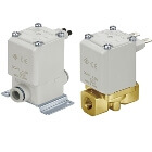 2 Port Direct Solenoid Valve, Ports 1/8 ~ 1/2 inch