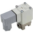 VXN, Direct Operated, 2 Port Solenoid Valve for Medium Vacuum, Single Unit