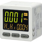ZSE20(F), Digital Pressure Switch, 3-Screen/3-Color Display, Compound and Vacuum Pressure