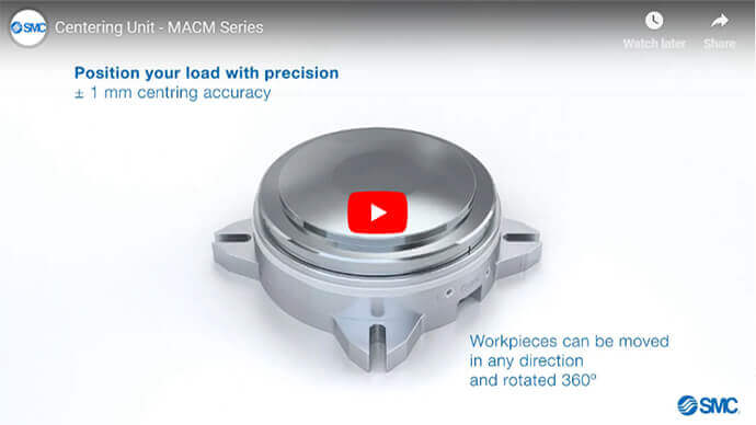 Centering Unit - MACM Series