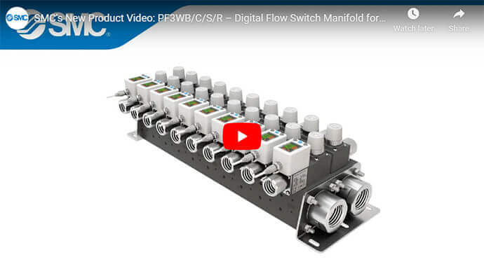 PF3WB/C/S/R – Digital Flow Switch Manifold for Water