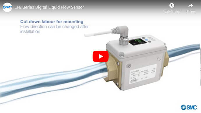 LFE Series Digital Liquid Flow Sensor